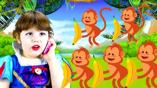 Five Little Monkeys Baby songs with Agnes