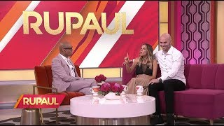 Jana Kramer, Mike Caussin and Tarek El Moussa on 'RuPaul'