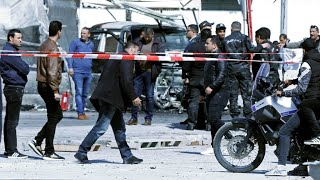 تفجير قرب السفارة الأمريكية في العاصمة التونسية -