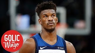 Jimmy Butler's outburst at Timberwolves practice was a 'setup' - Mike Golic   Golic and Wingo