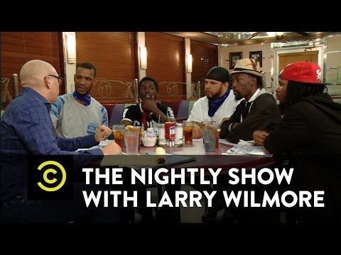 Baltimore Gang Members Speak About Protests On The Nightly Show -