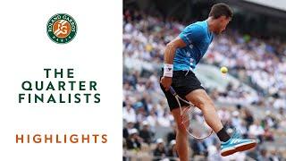 The Quarter-Finalists - Highlights | Roland-Garros 2019