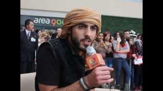 Omar Borkan Al Gala en México D.F. ( Patio Santa Fe)