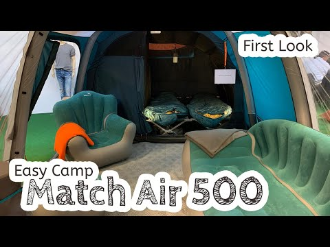 video Easy Camp Match Air 500 Review