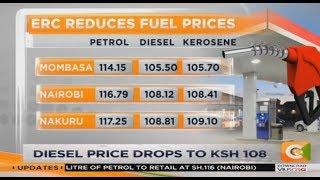 Diesel price drops to Ksh. 10, Kerosene up Ksh. 10