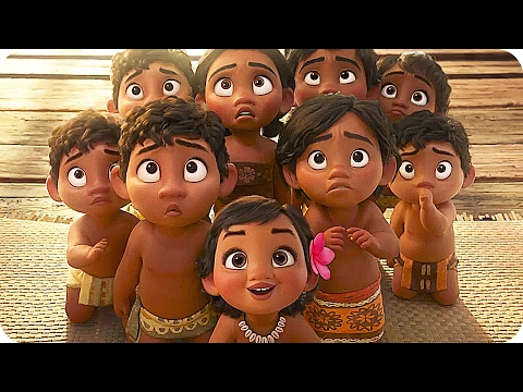 MOANA All Easter Eggs (2016) Disney Animated Movie