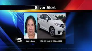 Regional Silver Alert Issued for Missing San Benito Woman