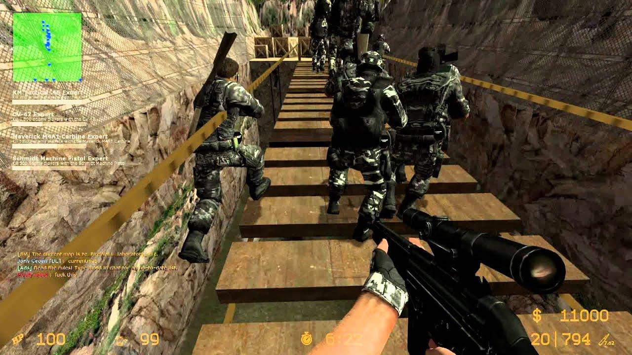 Counter-strike: source zombie escape mod doom ze_doom_v1_1.