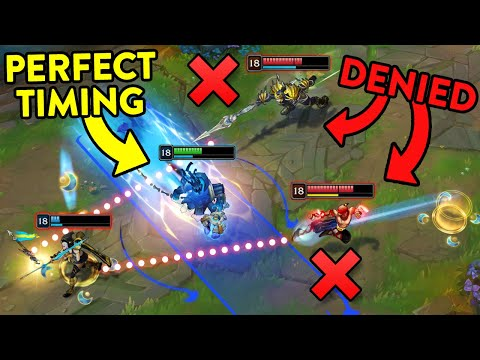THE POWER OF PERFECT TIMING - League of Legends