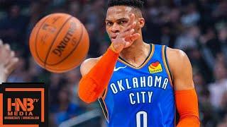 Oklahoma City Thunder vs Milwaukee Bucks Full Game Highlights | April 10, 2018-19 NBA Season