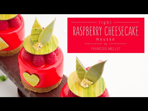 Light Raspberry Cheesecake Mousse Recipe - Qzina