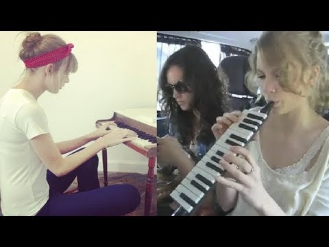 Taylor Swift can play many instruments
