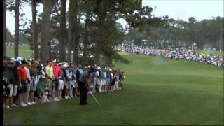 "Tiger Woods ""Almost impossible shot"", relived by BBC's Ken Brown"