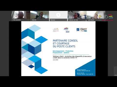Evolution des dispositifs d'assurance crédit dans le contexte COVID19 - AVIS D'EXPERT UDE MEDEF/DIOT