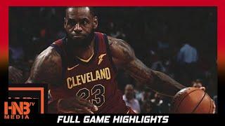Cleveland Cavaliers vs Milwaukee Bucks Full Game Highlights / Week 1 / 2017 NBA Season