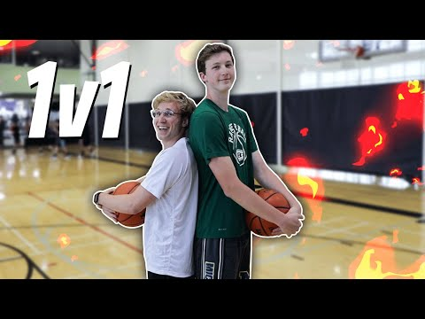 A 6'7 Subscriber Wanted to 1v1 in Basketball...