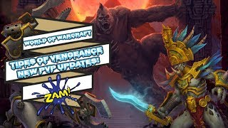TIDES OF VENGEANCE NEW PVP UPDATES! | WORLD OF WARCRAFT 🤐🤐🤐