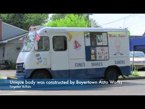 Ice Cream Truck Mr Softee Vintage 1960 Bo...