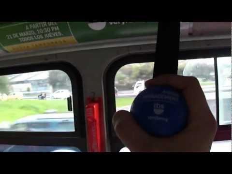 Marketbus - Campaña  Antiestrés en Transmilenio