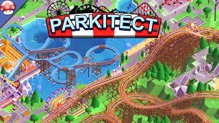 Parkitect: Gameplay (PC HD) (Steam Early Access Theme Park Manager Game)