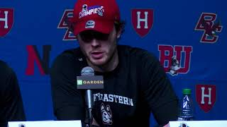 Beanpot 2018 Championship | Northeastern Men's Ice Hockey | Press Conference