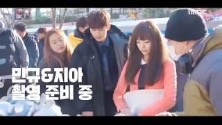 (hậu trường)Tôi không phải là Robot Chae Soo Bin ♥♥ Yoo Seung Ho đứng sau những cảnh thân mật