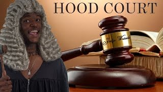 Hood Court - @DcYoungFly as Judge Westside - Ft. @Navv2Rude & @Moneybag_Mafia