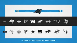 Carolina Panthers Pre-Draft Schedule Predictions