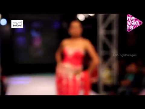 Reshmi Ghosh in AD Singh's Collection @ Bengal Fashion Week
