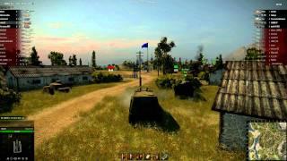 World of tanks Объект 212 бой с комментированием