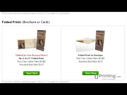 UPrinting.com Presents Mailing Services