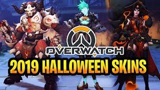 OverWatch Halloween 2019 Event ALL Skins New Update OverWatch Patch