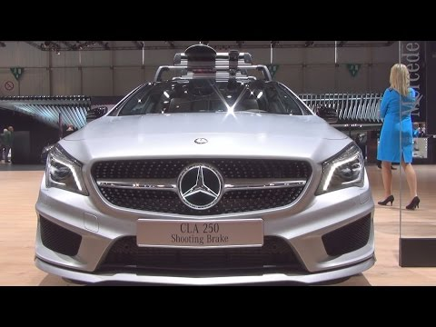 Mercedes-Benz CLA 250 Shooting Brake (2016) Exterior and Interior in 3D