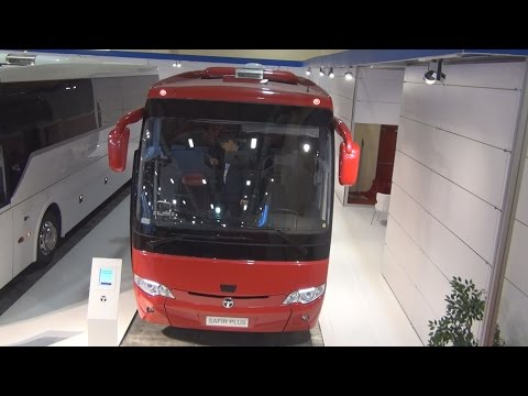 Temsa Safir Plus Bus (2016) Exterior and Interior in 3D