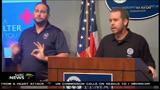 Hurricane Florence charges towards US East Coast