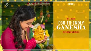 Vithika shows how to make Eco Friendly Ganesha with 'Sunni..