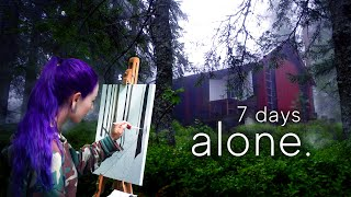 I Spent 7 Days in the Forest to Improve my Painting Skills