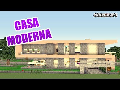 Casa moderna y de lujo en minecraft casas de subs musica - Casas moviles de lujo ...