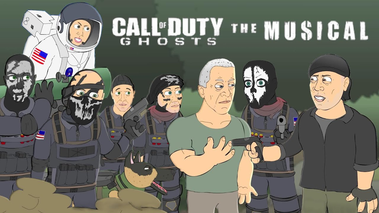 call of duty ghosts the musical animated parody music