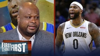 Antoine Walker on why Lakers made huge mistake not signing Boogie Cousins | NBA | FIRST THINGS FIRST