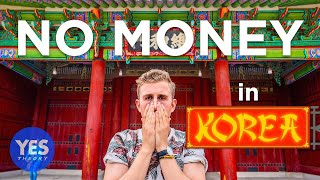 24 HOURS IN KOREA WITH $0