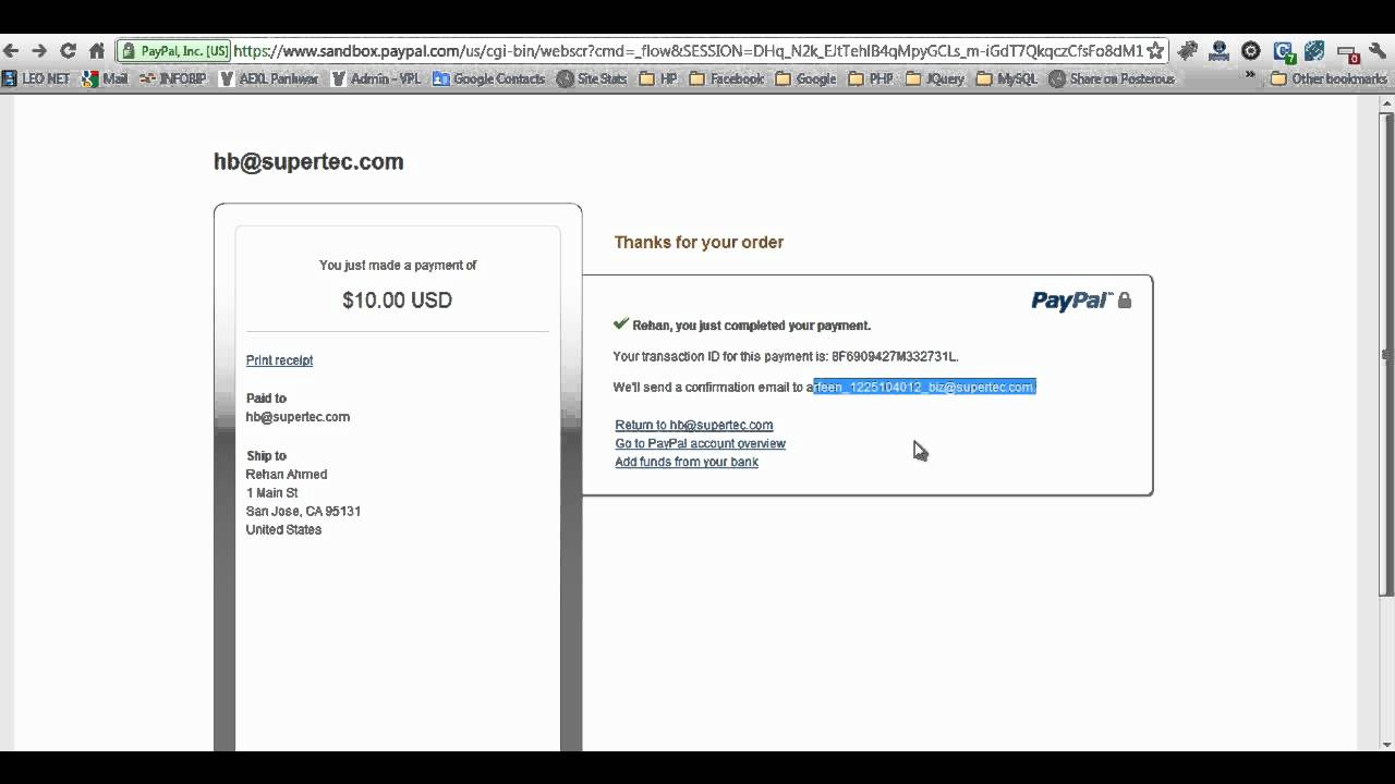 Paypal Php