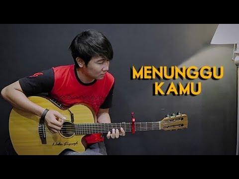 (Anji) Menunggu Kamu - Nathan Fingerstyle | Guitar Cover | NFSVLOG