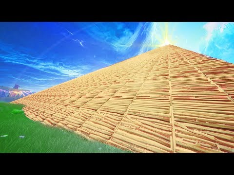 The WORLDS *BIGGEST* STAIRWAY TO HEAVEN In Fortnite Battle Royale