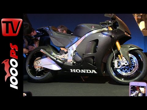 Honda RC213V-S First-Look + Soundcheck with Marc Márquez
