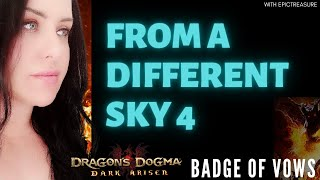 Dragon's Dogma FROM A DIFFERENT SKY 4 Cassardis Badge of vow location