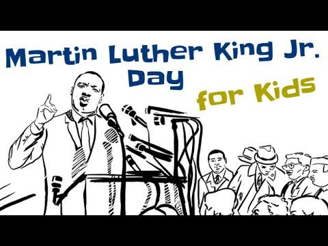 Martin Luther King Jr Day for Kids
