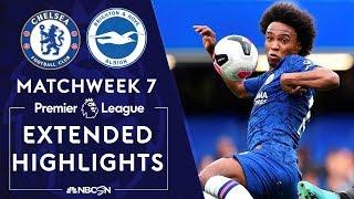 Chelsea v. Brighton | PREMIER LEAGUE HIGHLIGHTS | 9/28/19 | NBC Sports