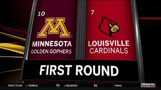 Highlights: No. 10 Minnesota Upsets No. 7 Louisville | 2019 NCAA Tournament