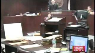 Chilling words in court bring 2 families to tears